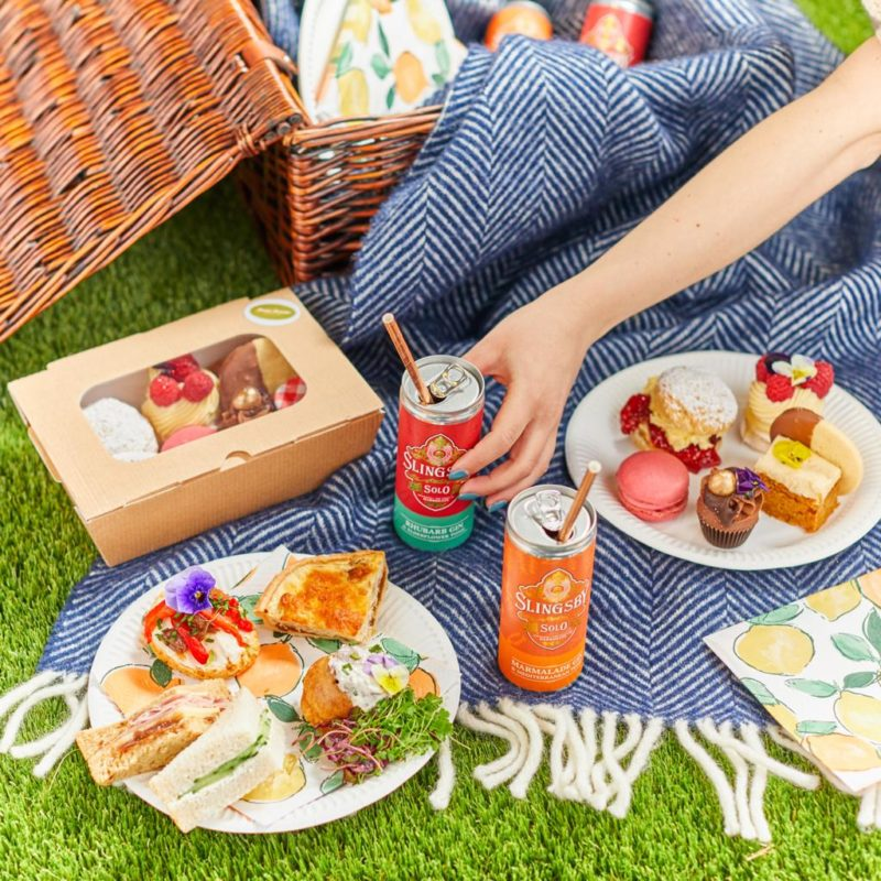 Slingsby Gin Afternoon Tea for two